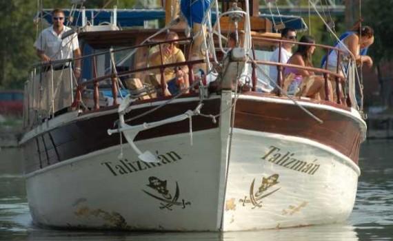 "Talizman yacht ""török"""